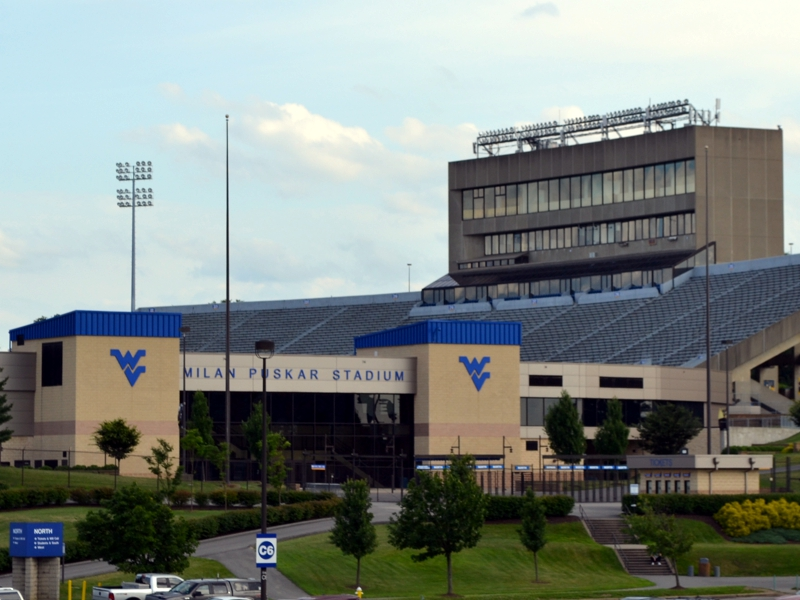 WVU Football Stadium & Coliseum